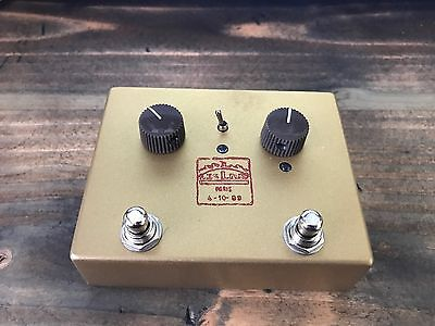 Lovepedal LES LIUS Fender Tweed Twin OverDrive Mint Guitar Pedal FREE SHIPPING