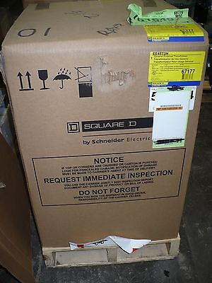 Square D EE45T3H General Purpose Dry Type Transformer, 45 kVA, 3PH, 60HZ, New