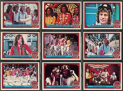 Sgt Peppers Lonely Hearts Club Band - A Full 1978 Set Of Trade Cards Of The Film