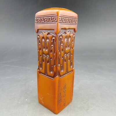 Chinese antiques, noble collection, manual sculpture, jade, classic, seal SL5*