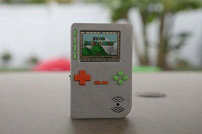 Pocket PiGRRL 2 Raspberry Pi Game Console by adafruit--Case and Buttons only--