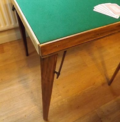 Card Table, Vintage camping table, Goodwood Revival.