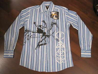 Dragonfly LED ZEPPELIN small shirt images embroidery Robert Plant Jimmy Page