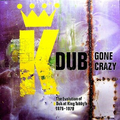 King Tubby & Friends Dub Gone Crazy Simply Vinyl 180g Double LP New & Sealed!
