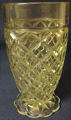 """Waterford Crystal Tumbler 5.25"""" 10 oz Hocking Glass Company"""