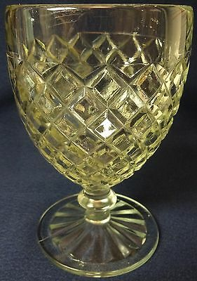 """Waterford Crystal Goblet 5.25"""" Hocking Glass Company"""