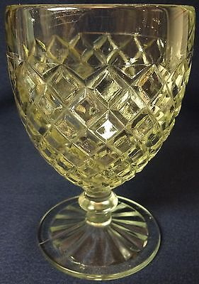 """Waterford Crystal Goblet 5.25"""" Set of 2 Hocking Glass Company"""