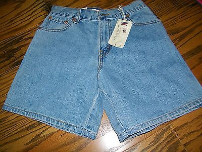 Women's Levi's Red Tab Vintage Faded  Jeans Blue JEan Shorts  6 Misses NWT NEW