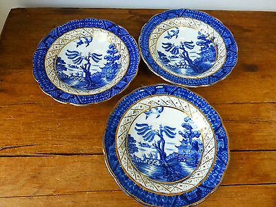 Booths Real Old Willow - 3 x small bowls