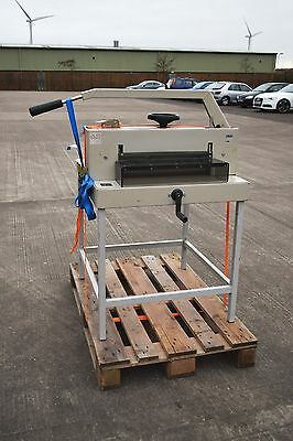 Ideal 4700 Series Heavy Duty Guillotine & Stand + Spare Blades/sticks + Creaser