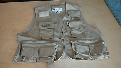 Columbia Sportswear Fly Fishing Vest Men's Size L/XL