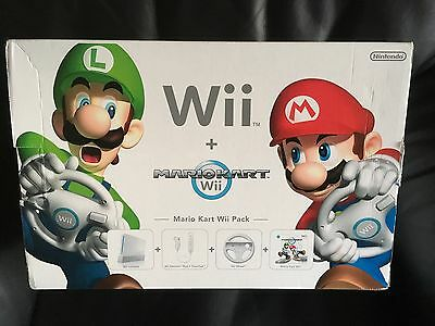 Nintendo Wii Mario Kart Pack Replacement Outer Box - Official Box