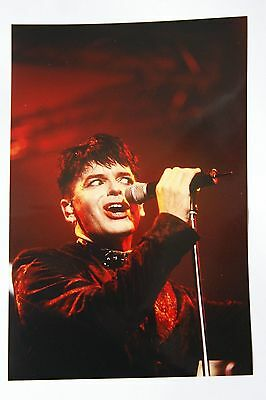 Photo of Gary Numan in concert by Mel Longhurst, rock and pop photographer