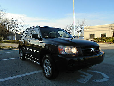 2001 Toyota Highlander Base Sport Utility 4-Door 4X4-LOW 1 OWNER MILES-CLEAN-AFFORDABLE AND BEST OF ALL NO RESERVE-YES NO RESERVE