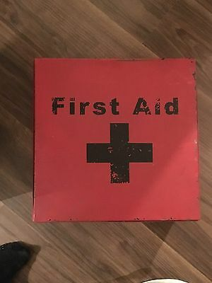 Antique Old First Aid Box