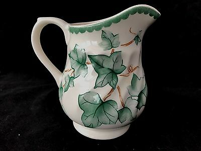 BHS Country Vine Side Lidded Milk Jug - Excellent condition