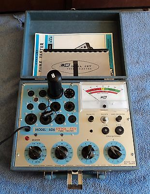 Beautiful B&k 606 Dyna Jet Tube Tester, Shown Testing And Calibrated
