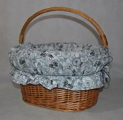 NEW Bicycle Wicker Basket LINING