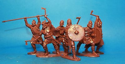 Collectible Plastic Toy Soldiers Vikings warriors set 2 132