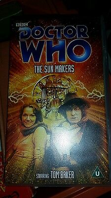 Doctor Who The Sunmakers VHS
