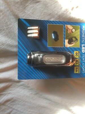 Magnet Led Bivvy & Camping Light Great  For The Night Angler