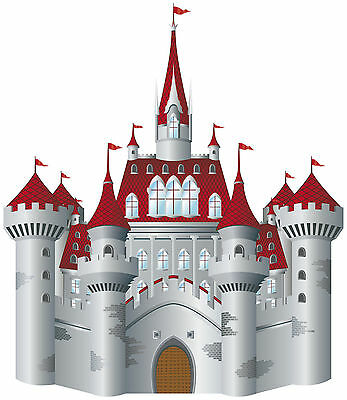 Stickers autocollant Chateau fort