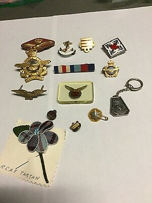 Canadian Military / RCAF badges