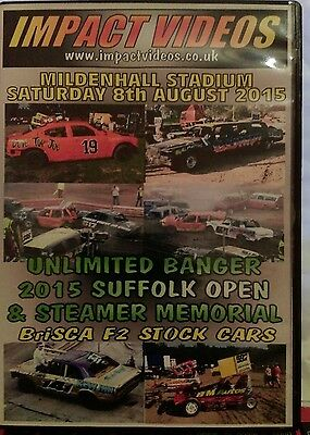 Banger Racing-Unlimited bangers 2015 suffolk championship plus Steamer memorial