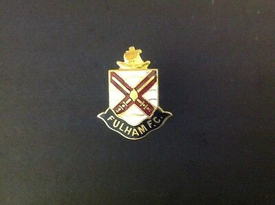Fulham Pin Badge (made by Coffer Northampton)