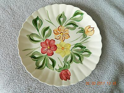 "Southern Potteries Blue Ridge Serving Plate ~ Gypsy ~ Floral ~ 11.75"" ~ Nice!"