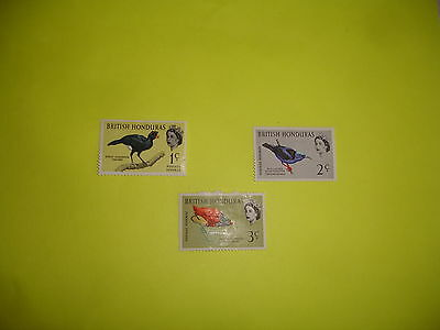 postage stamps of  BRITISH HONDURAS