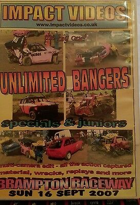 banger racing dvd Unlimited bangers specials and juniors inc the bears 2007