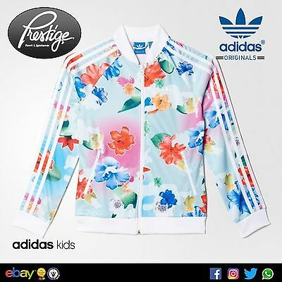 Giacca con zip Adidas SST GIRL Tg: 5-6;8-9;9-10;10-11;13-14;14-15