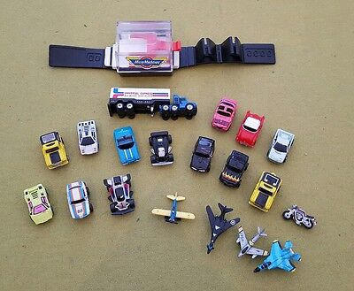 job lot of vintage 1980's micro machines toy cars