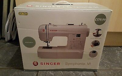 Singer Symphonie vi sewing machine New in box.
