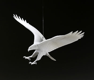 EAGLE  Mobile by JOHN PERRY New 11in Wingspan Sculpture Figurine