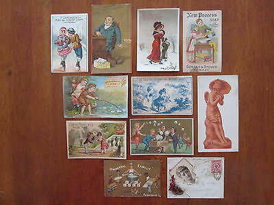 11 Trade Cards all advertising for soap--many with children
