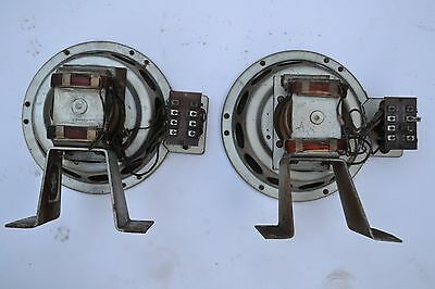 """Pair 10"""" Field Coil Speakers - EMI /Marconi for PX4 use"""