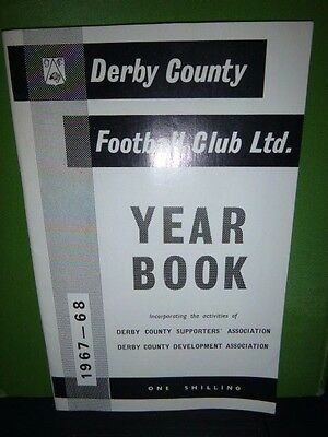 Derby County Football Yearbook 1967 & Programmes
