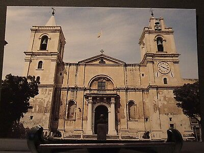 Malta postcard- St Johns co Cathedral
