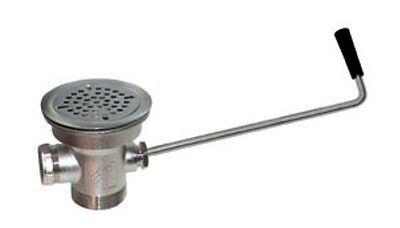 Lever Waste Drain (D55-7510) Twist Handle