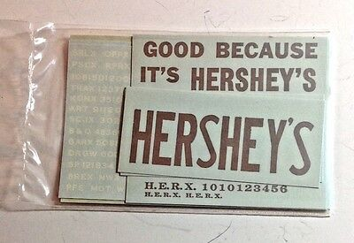O Scale Decals -  Walthers -  #936 Hershey's Box Car