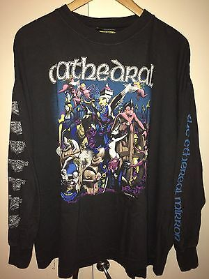 Cathedral - The Ethereal Mirror Long sleeve Shirt 1992 Entombed, Bolt Thrower