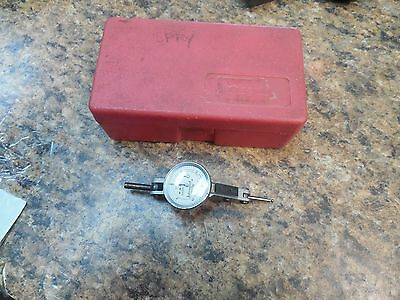 Interapid 312B-2 - 74.111371 - .005 - Jeweled Test Indicator With Case