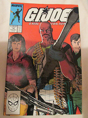 Marvel Comics - G.i. Joe - No.78 - 1988.