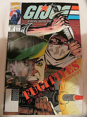 MARVEL COMICS - G.I. JOE - No.107 - 1990.