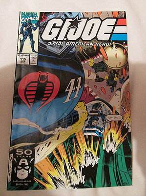 MARVEL COMICS - G.I. JOE - No.115 - 1991.