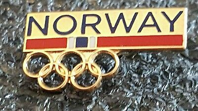2016 Rio Olympic NORWAY  NOC NATIONAL COMMITTEE pin