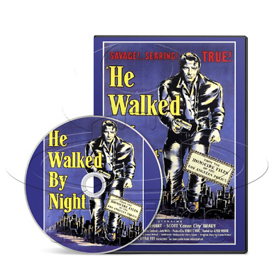 He Walked by Night (1948) Crime, Film-Noir, Thriller Movie on DVD