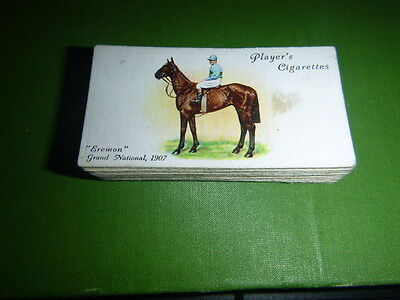 Set Of 50  Grand National & Derby Winners 1930's By John Player